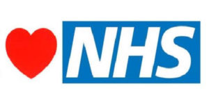 image of a heart and NHS