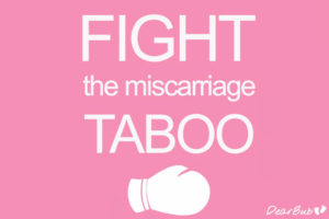 Image of fight the miscarriage taboo