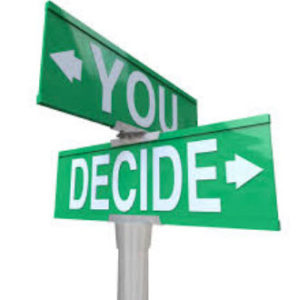 image of signposts saying you decide ivf to tell or not to tell