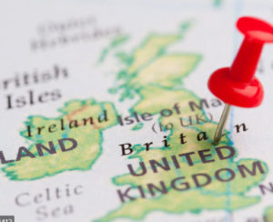 map of UK ivf abroad